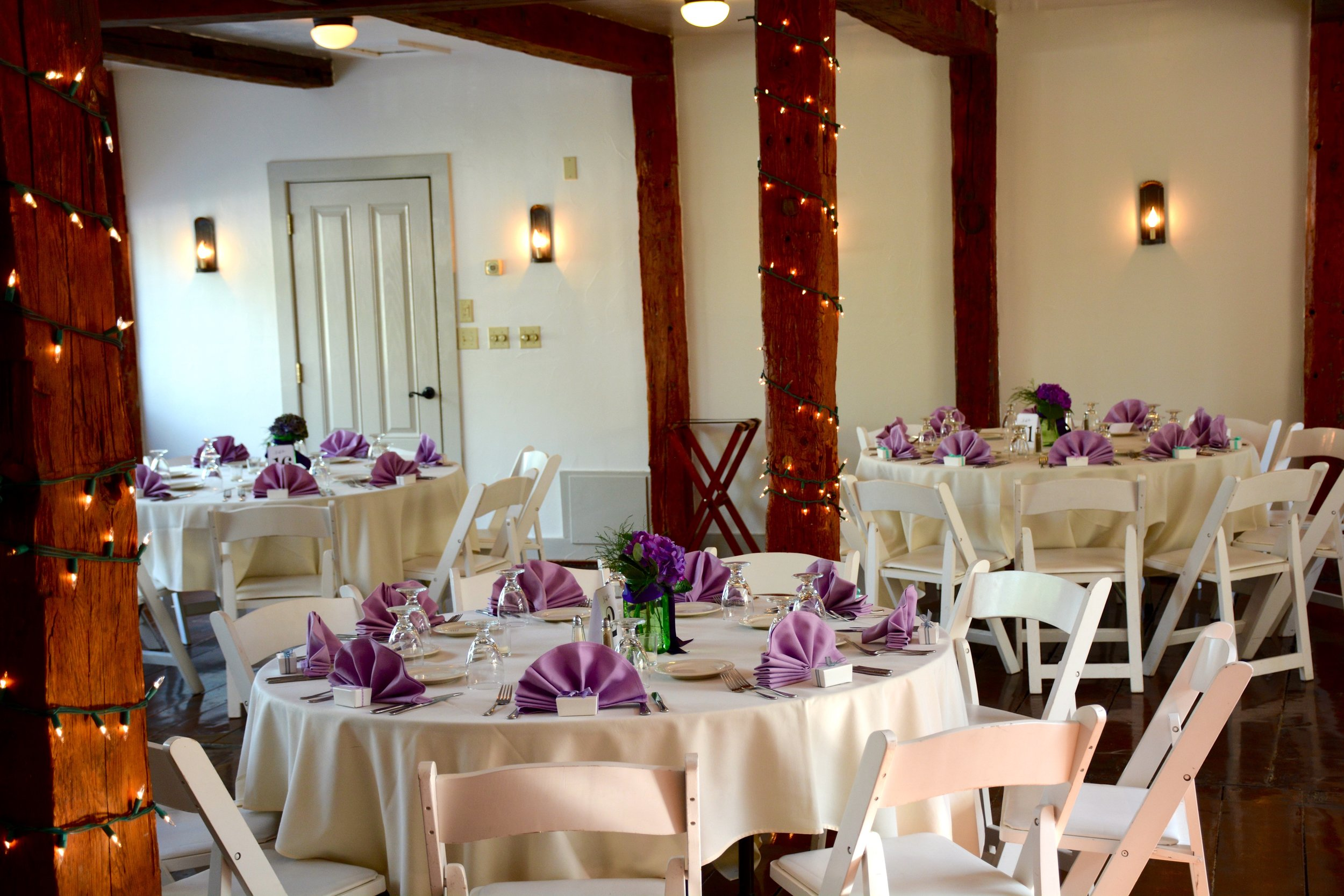 Banquet Hall a the Dowds' Country Inn - Weddings & Special Events - Lyme, NH