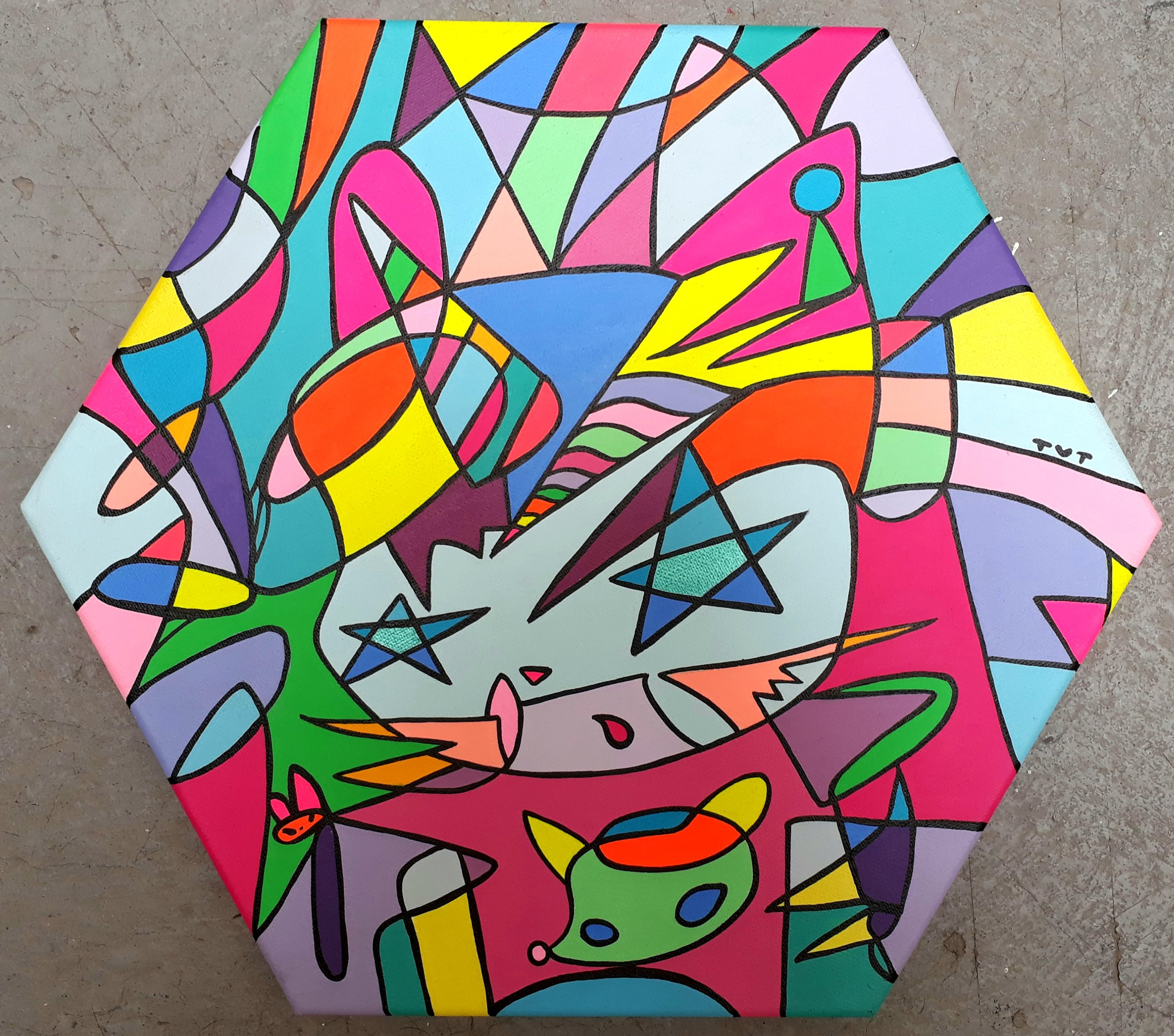 S.T (2018) -  35 x 40 cm - Acrilico sobre lienzo / Acrylic on canvas