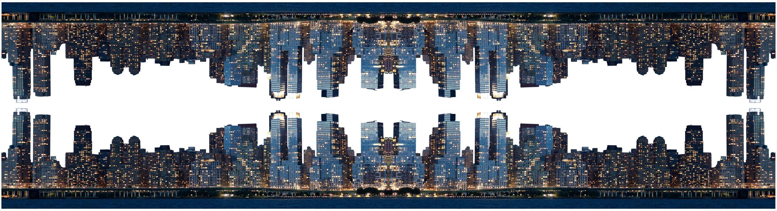 Skyline (2018) - 26 x 96 cm - Impresión digital sobre papel de algodón. Edición de 3 / Digital print on cotton paper