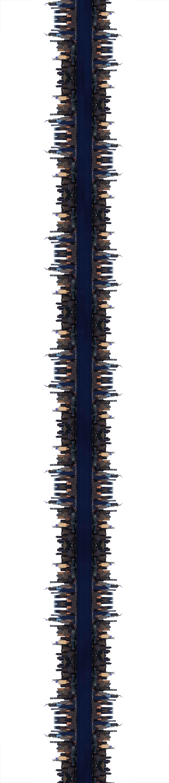 Vertical Skyline (2018) - 120 x 26 cm - Impresión digital sobre papel de algodón. Edición de 3 / Digital print on cotton paper