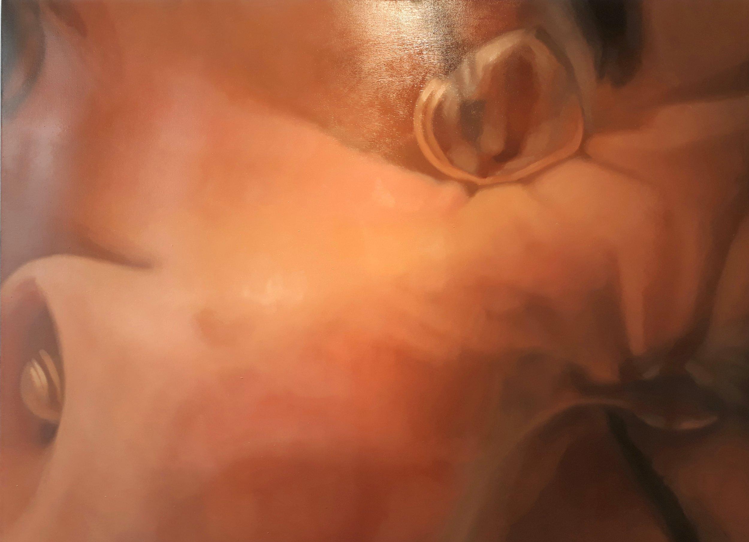 Sumersión 2 (2019) - 130 x 95 cm - Óleo sobre lienzo / Oil  painting on canvas