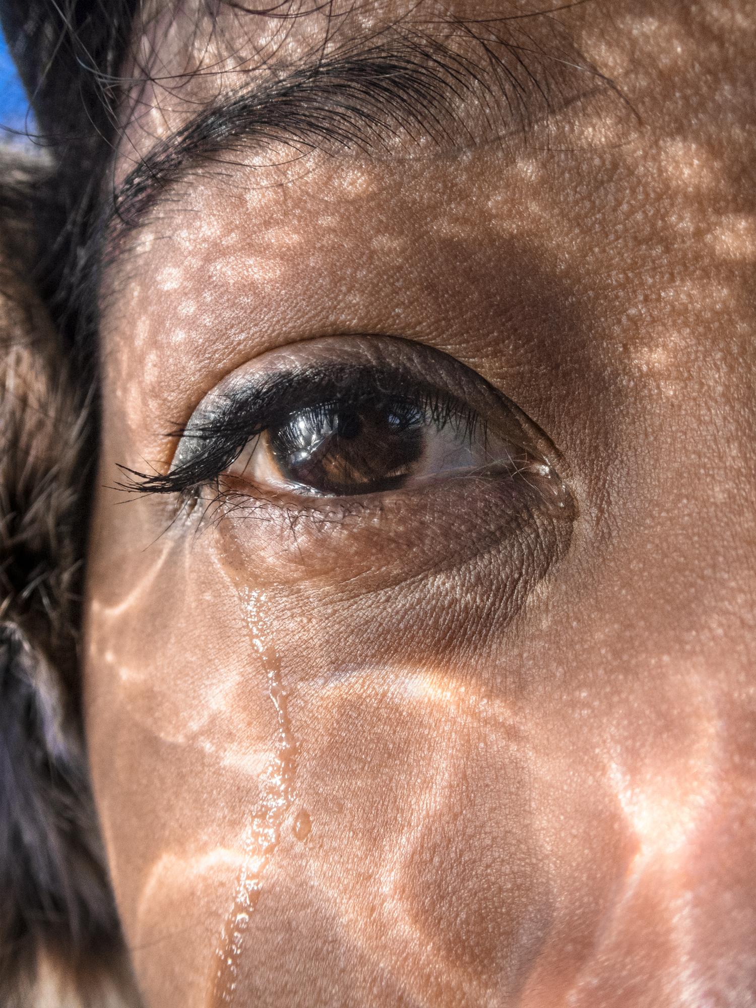 Deka's eye (2019) - 20 x 15 pulgadas- Edición de 5 + 2 P/A, Impresión Inkjet / Inkjet print