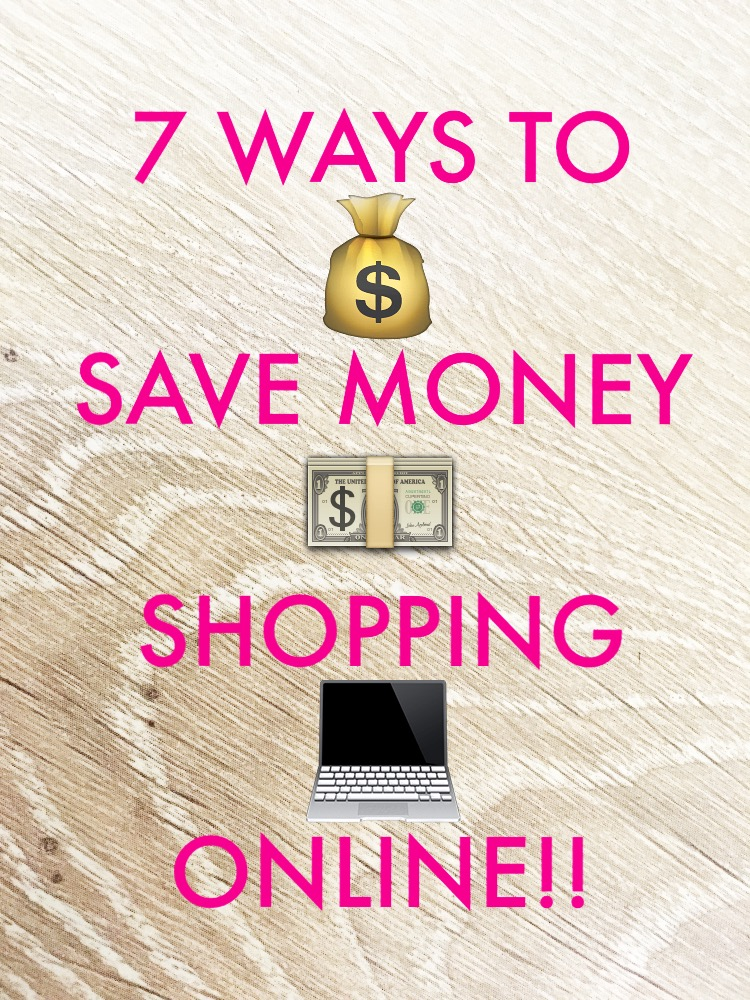 ways to save money shopping online