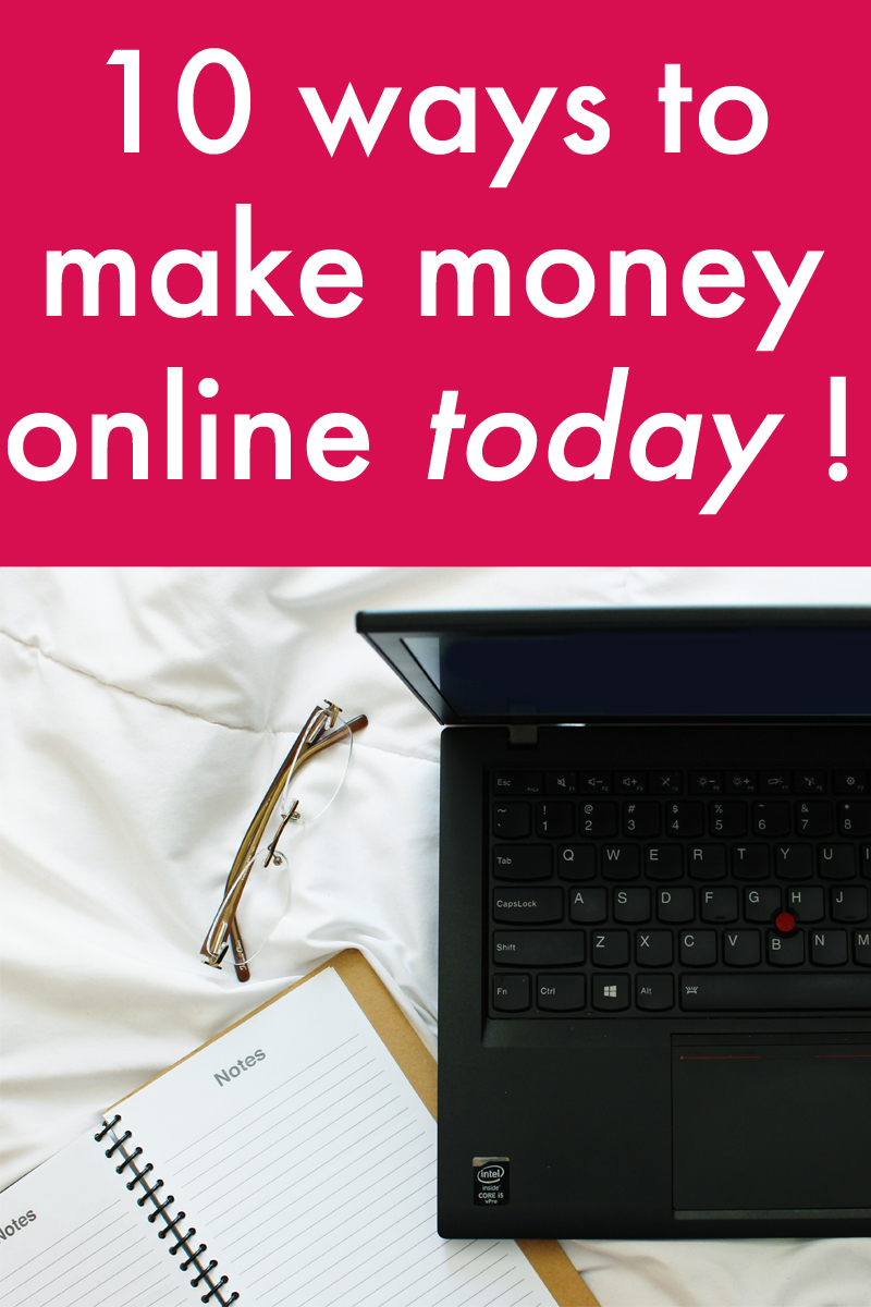 ways to make money online fast