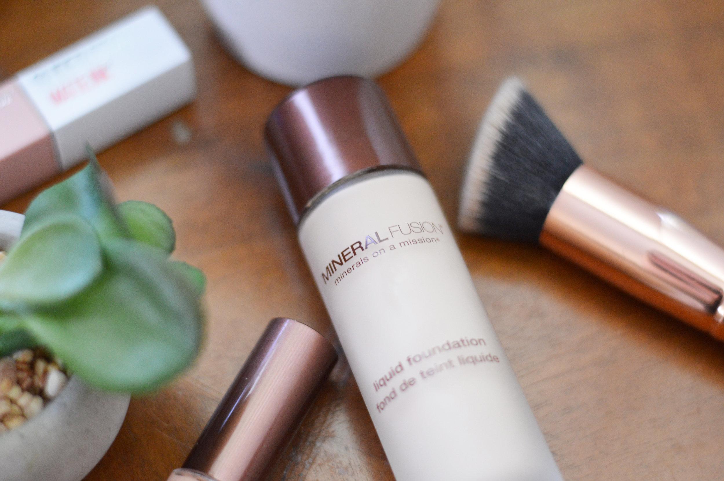 mineral fusion mineral makeup natural makeup