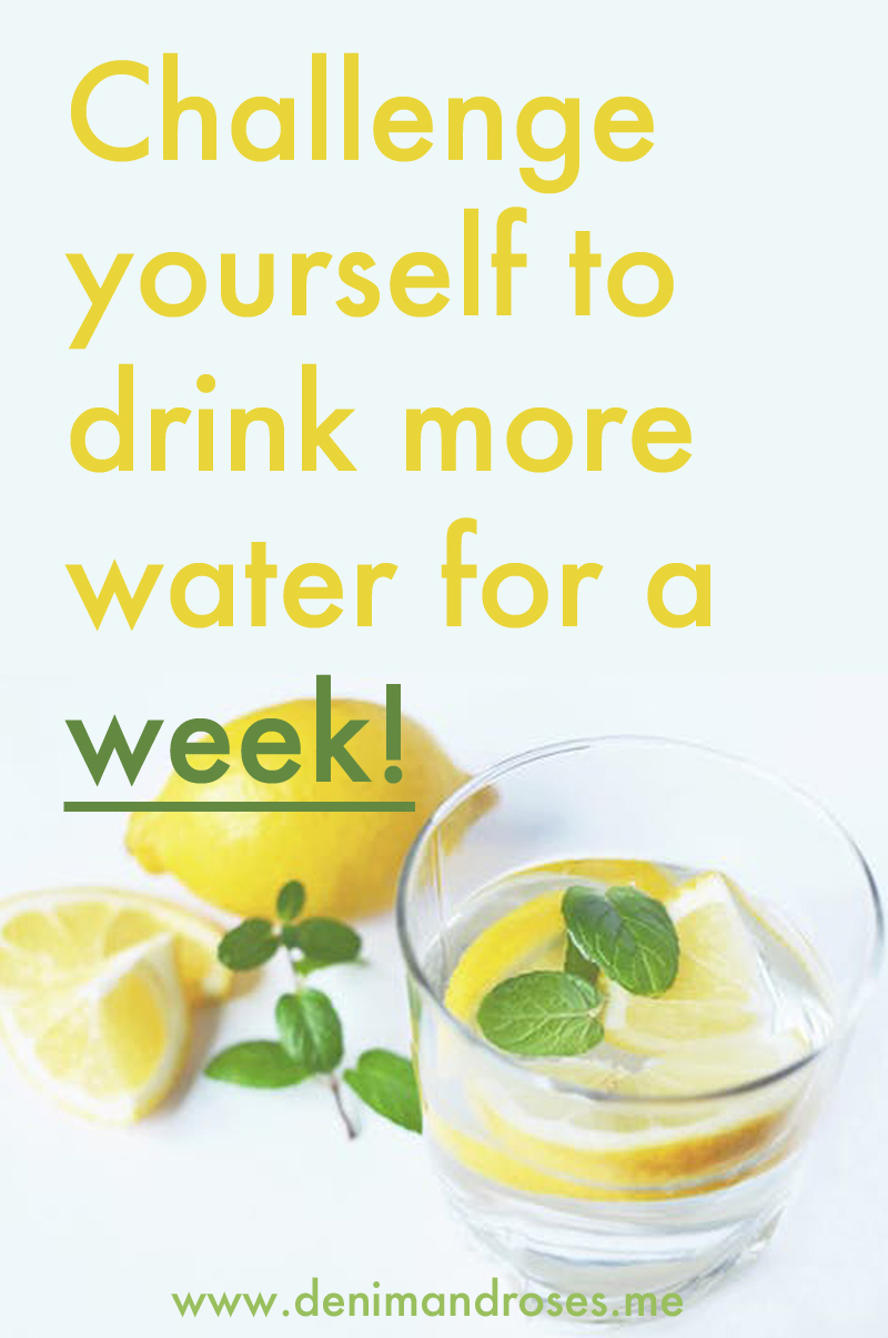 challenge to drink more water