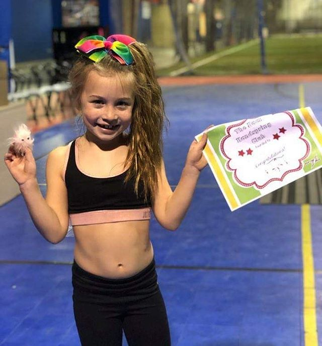 🚨New Skill alert! She has been working overtime to get this trick! Congratulations on crashing your back handspring. Hard work definitely paid off 💪  #backhandspring #athletes #crushing #thursday #cheer #gym #girlpower #strong
