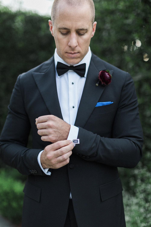 Ralph Lauren for the handsome groom