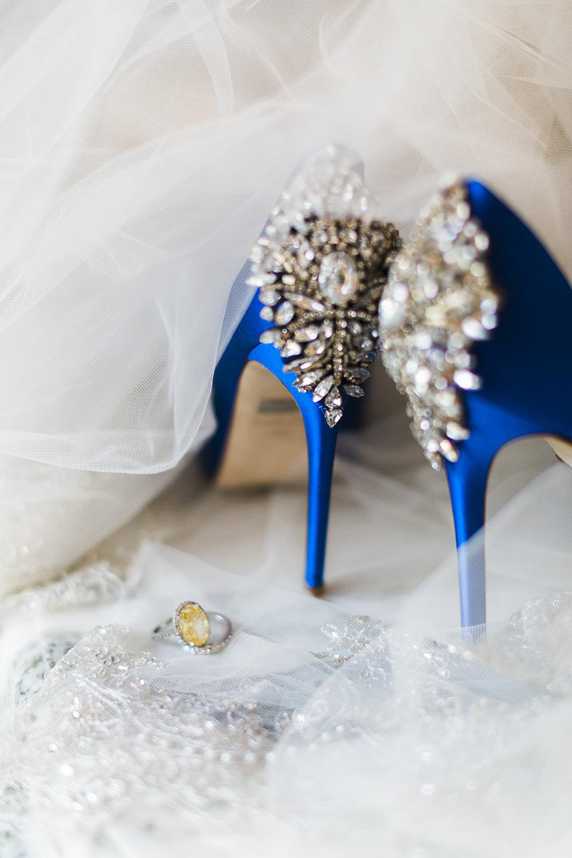 Badgley Mischka Heels- Something Blue