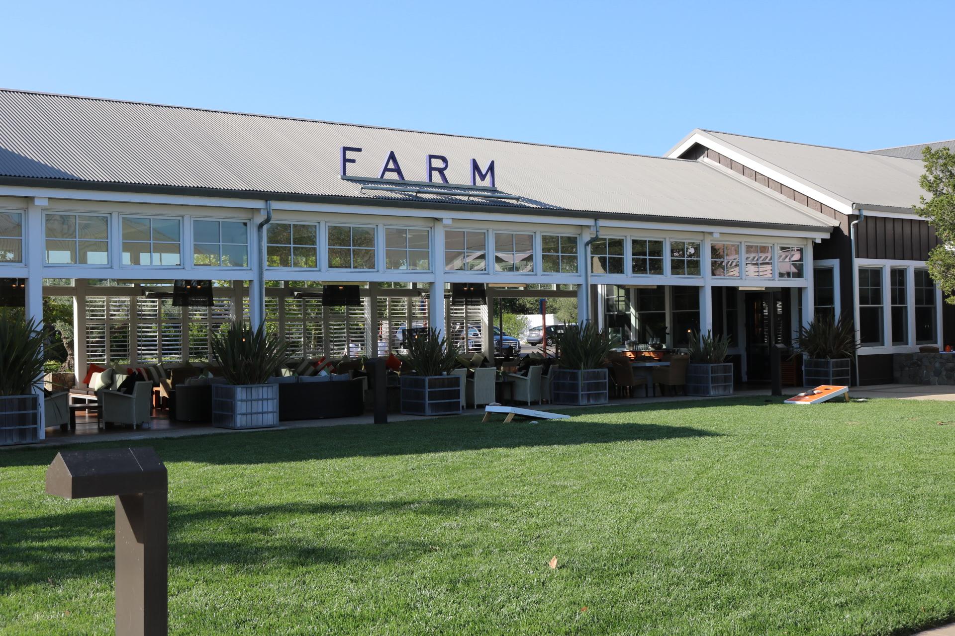Carneros Lawn, and Farm Restaurant