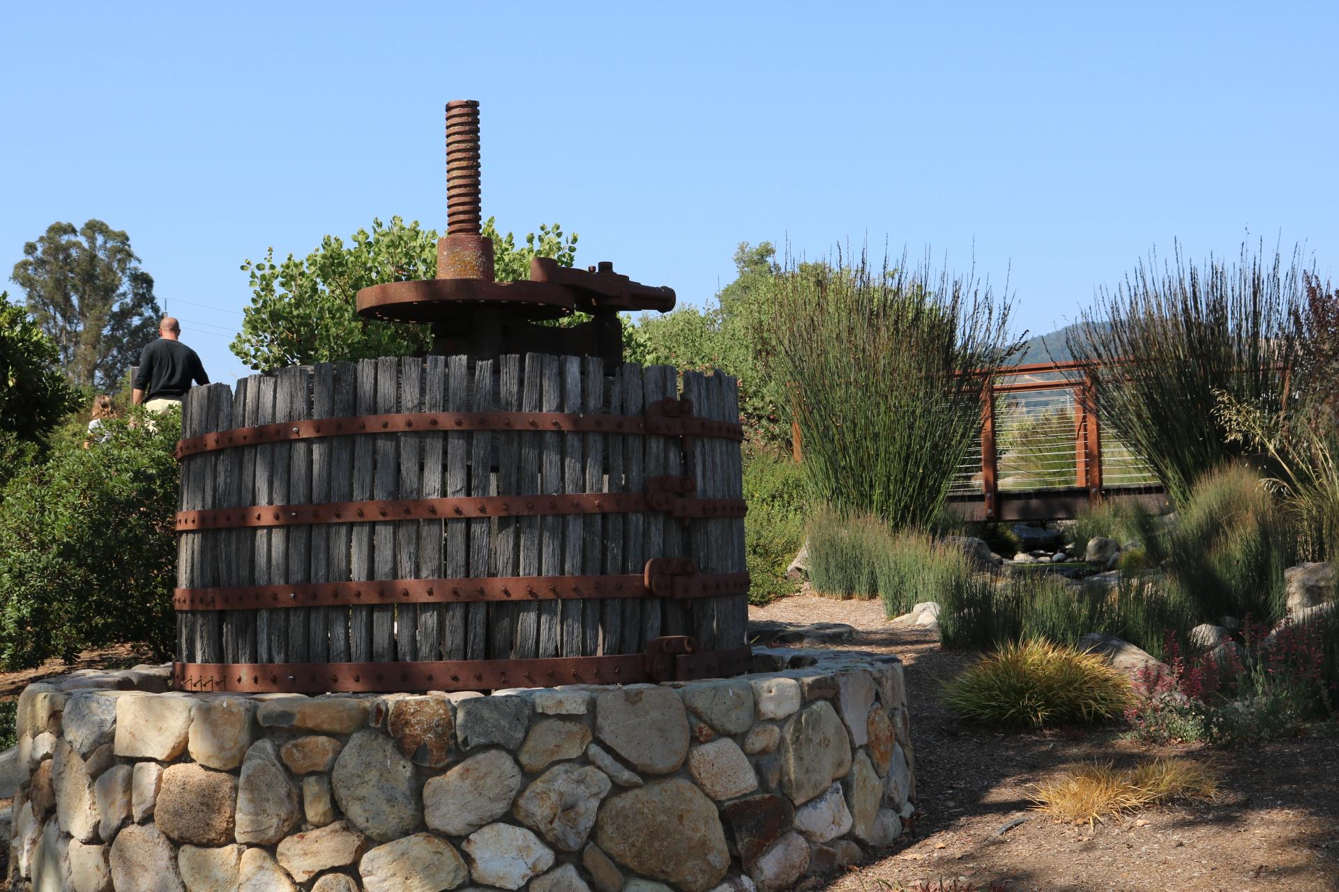 Vintage Wine Making