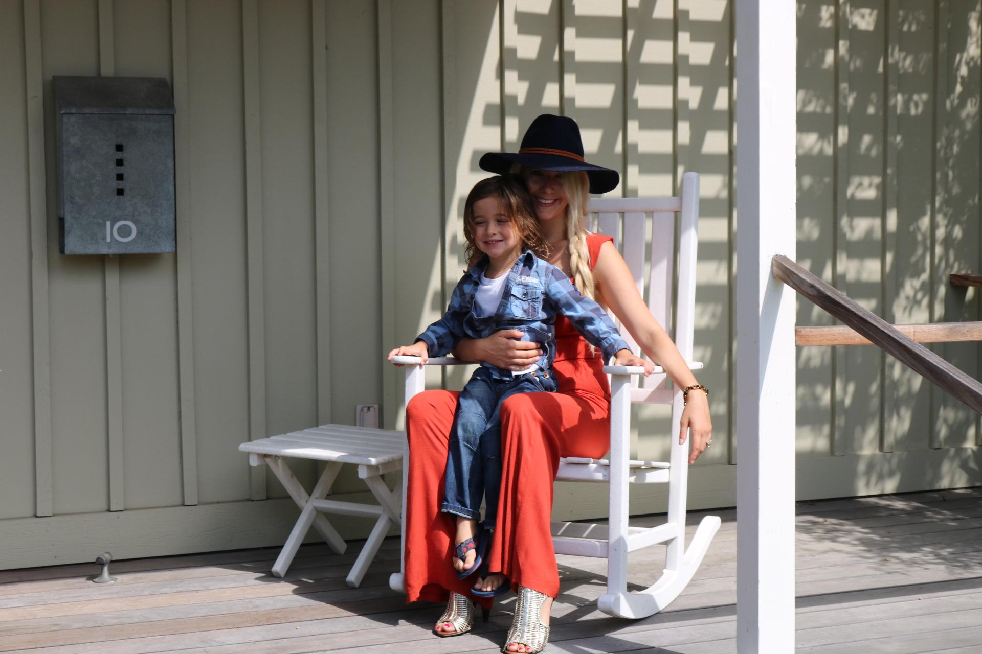 Some good porch-sitting!