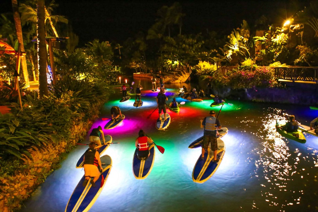 Glowing Tour of the Polynesian Center!