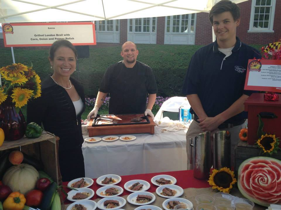 Herrington on the Bay Catering had a winning recipe for the 2015 Buy Local Cookout – Owner Anna Chaney & Chef Mike Archibald
