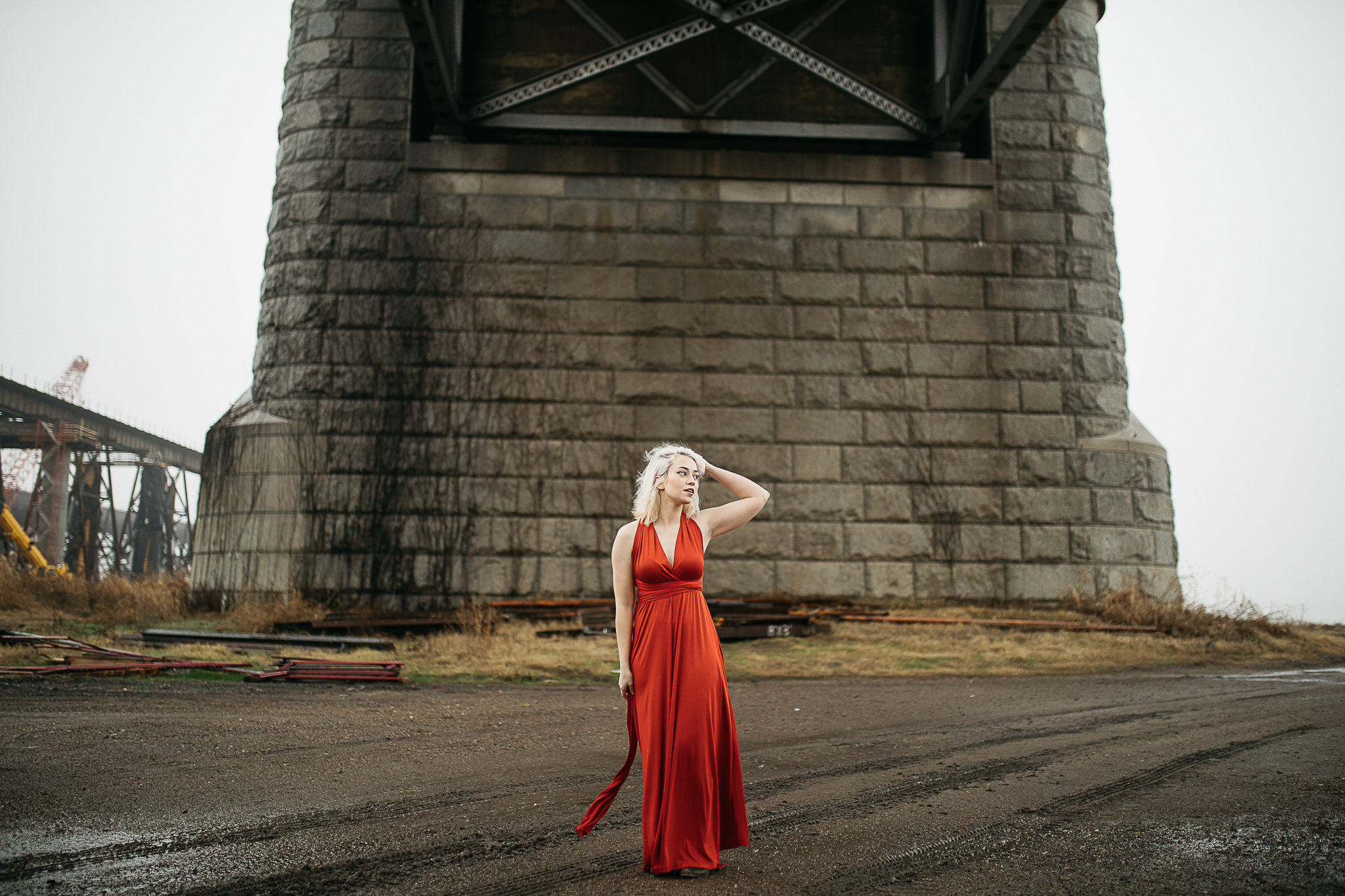 Hosanna-Memphis-Bridge-Red-Dress-Fog-16.jpg