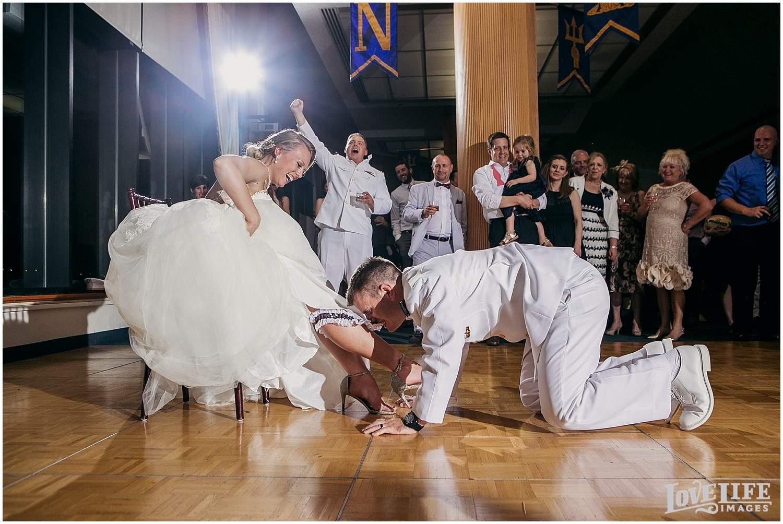 US Naval Academy Wedding