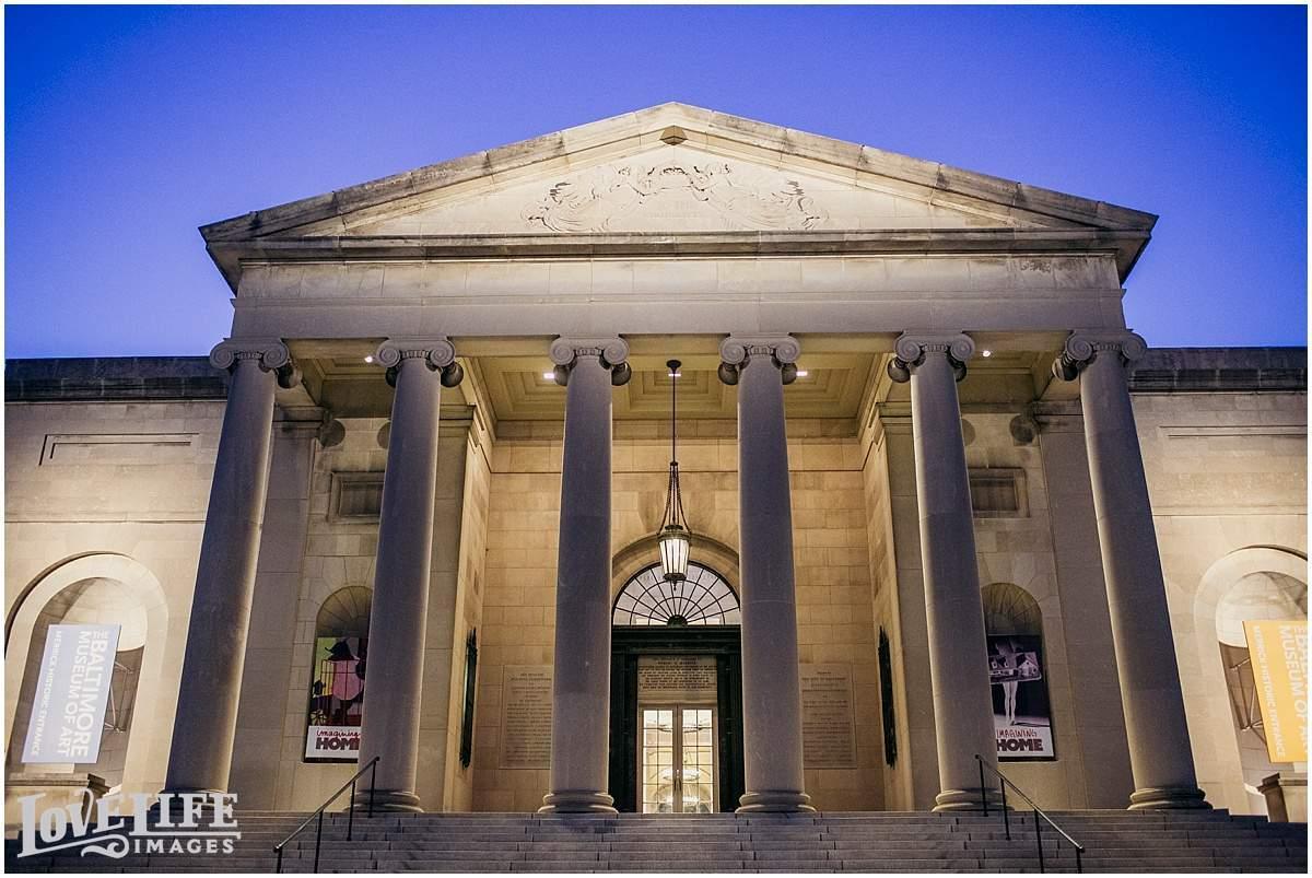 Baltimore Museum of Art Wedding