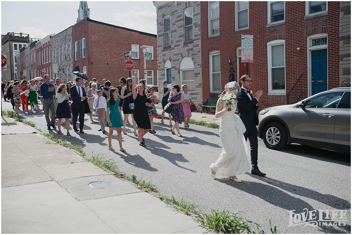 Baltimore Museum of Industry Wedding