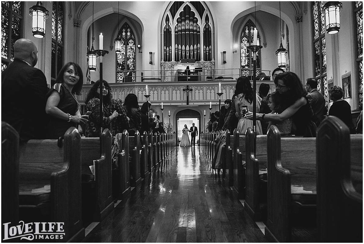 Immaculate Conception Church Wedding