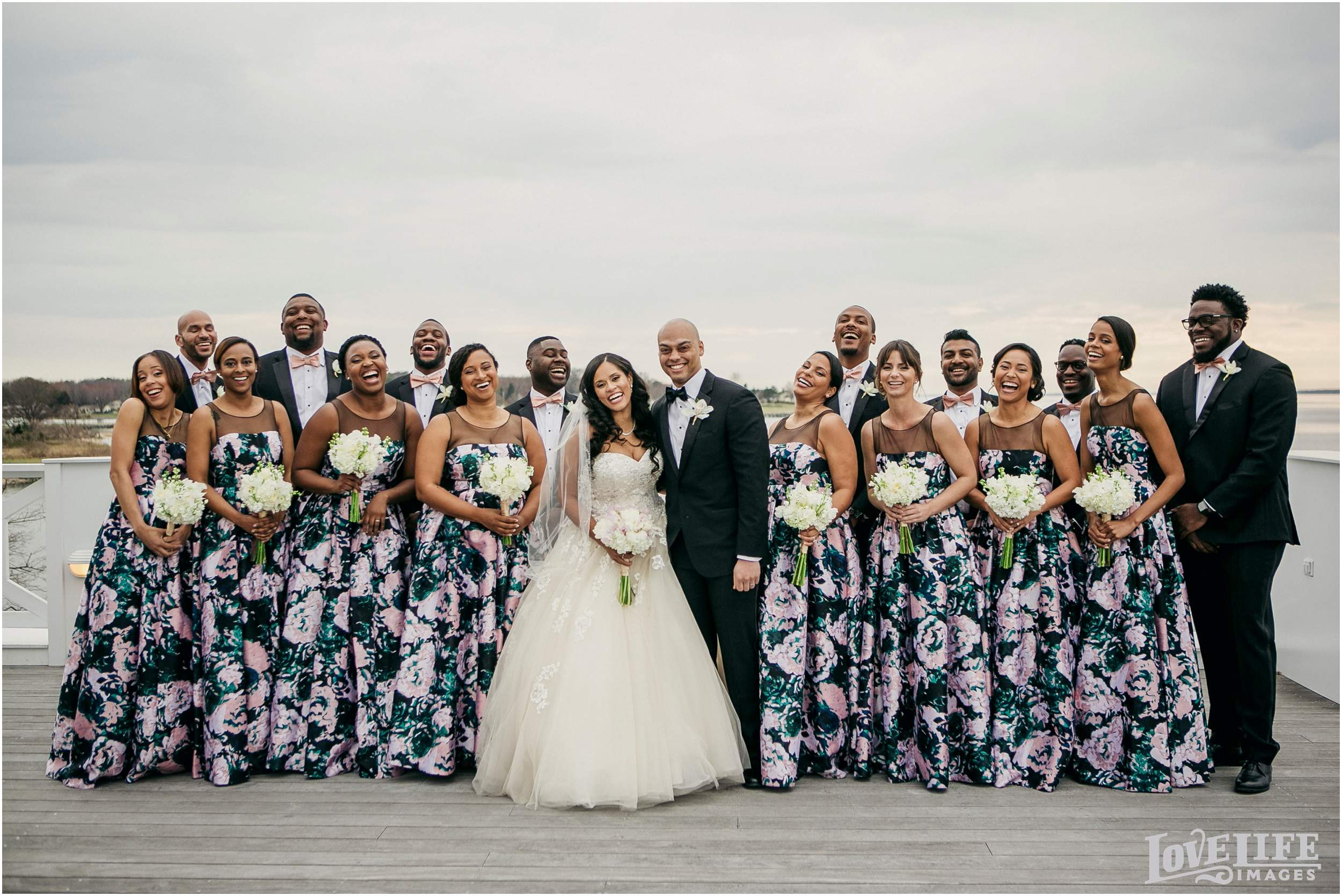 Baltimore bride wedding of the month