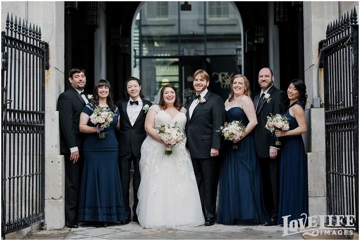 DC Hotel Monaco wedding photographer