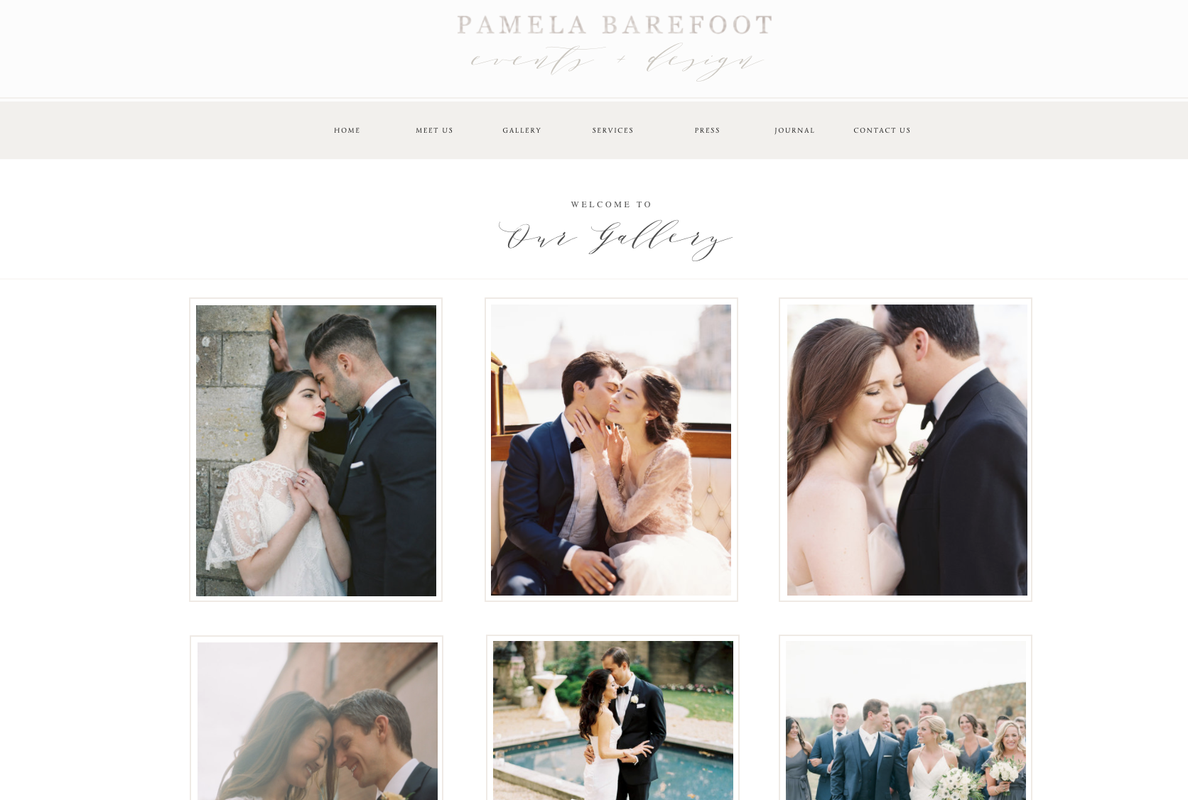 Pamela Barefoot Events