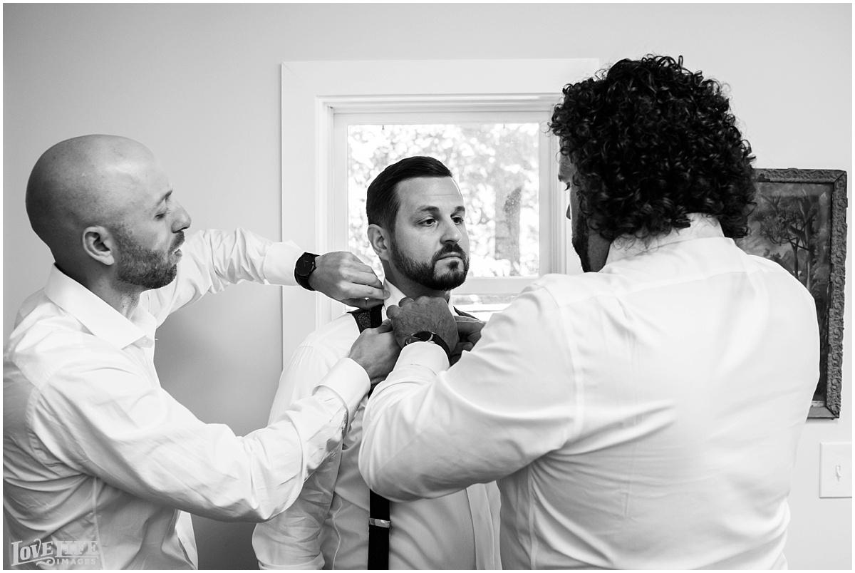 Eastern Market DC Wedding groom getting ready.jpg