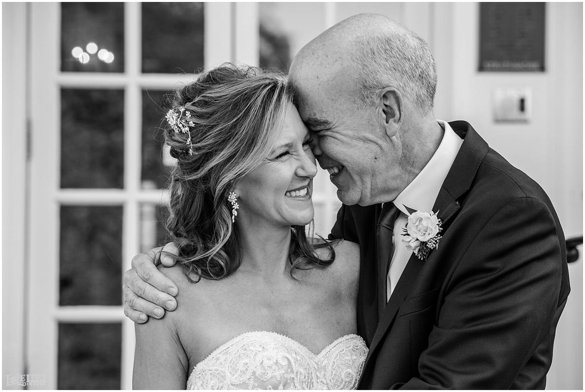 Strathmore Mansion wedding black and white portrait of bride and groom.jpg