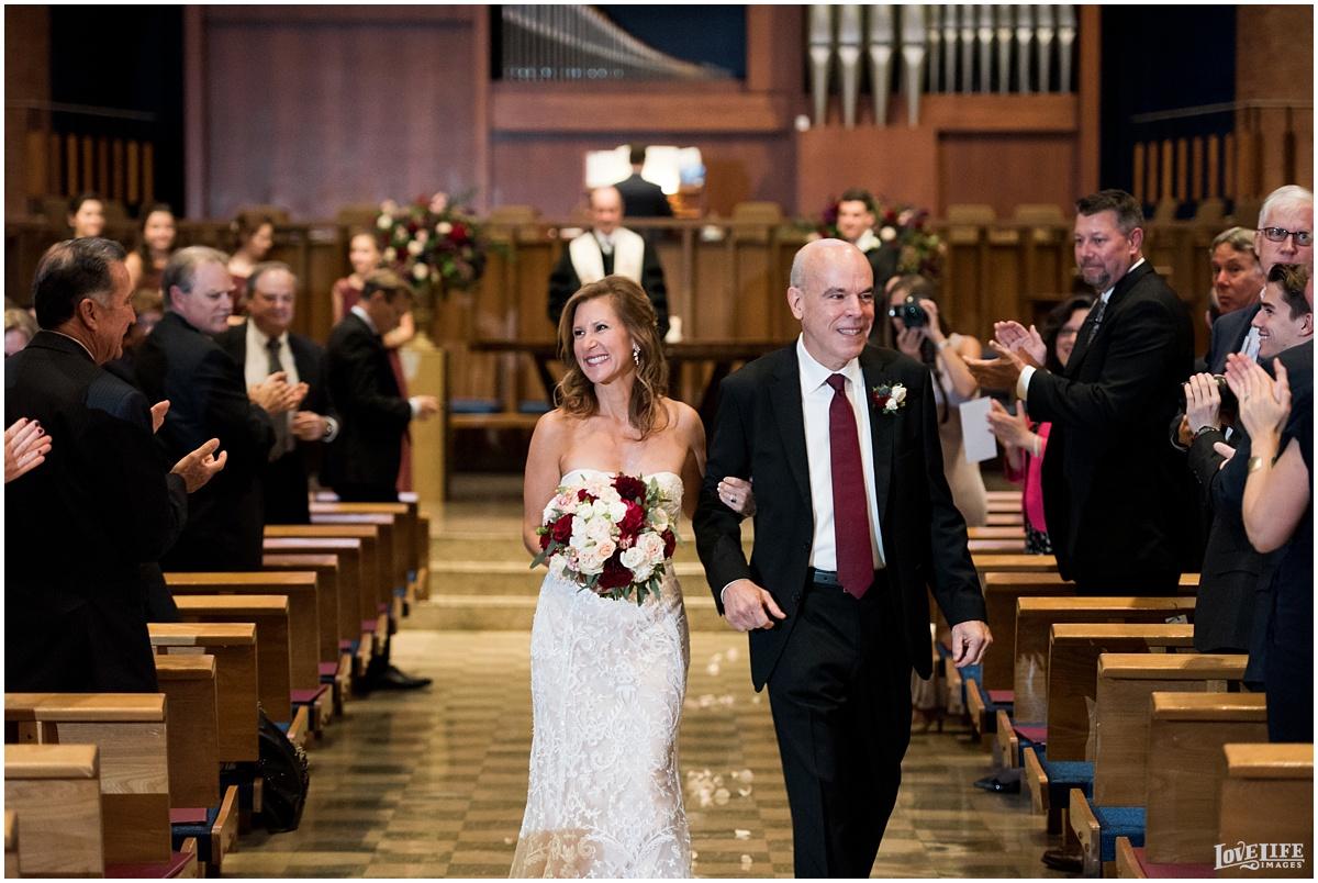 Strathmore Mansion wedding bride and groom recessional.jpg