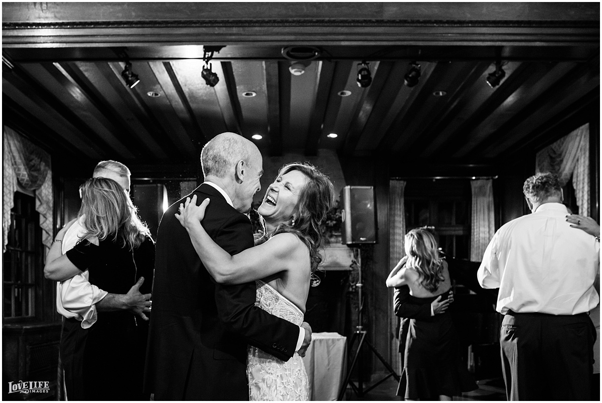 Strathmore Mansion wedding bride and groom dancing and laughing.jpg