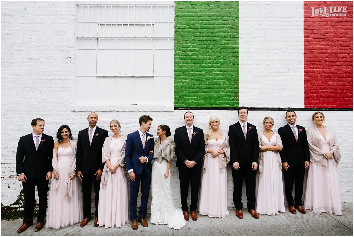 Pinstripes DC Wedding outdoor bridal party.jpg
