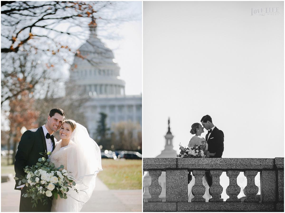 District Winery Winter Wedding bride and groom senate park portrait.JPG