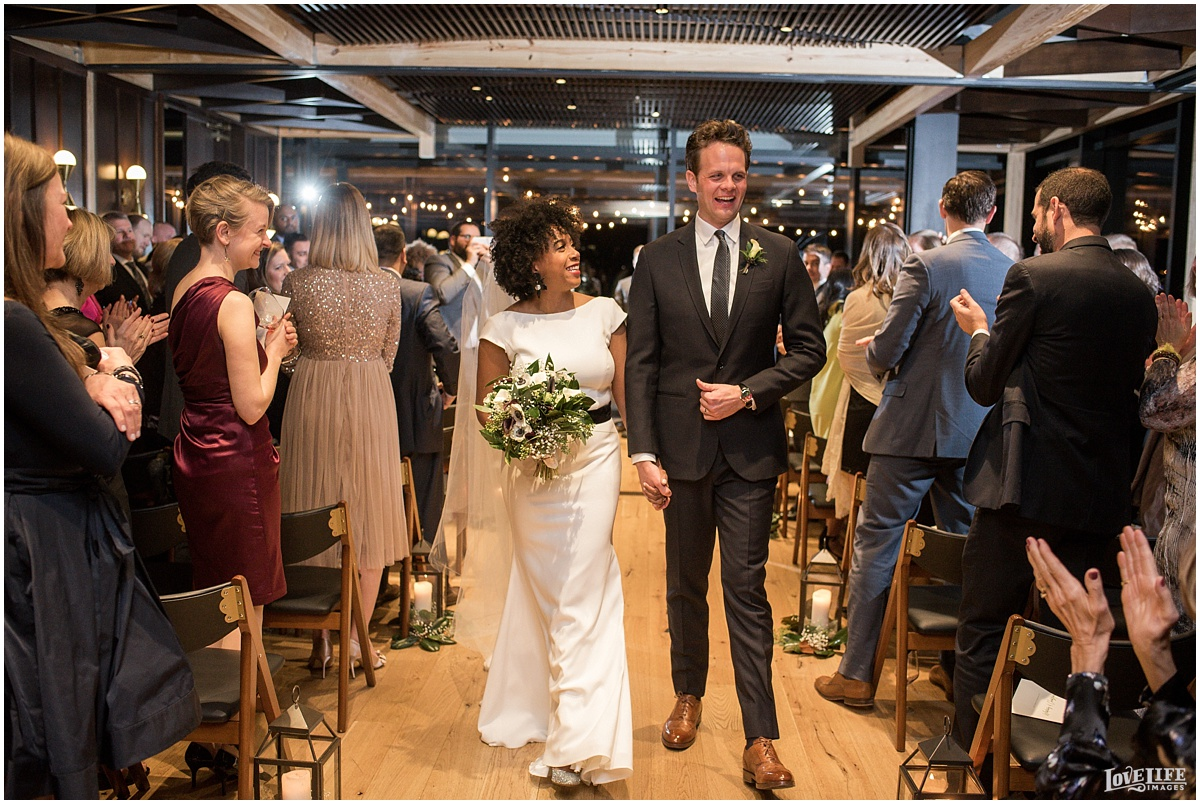 District Winery DC Wedding ceremony recessional.jpg