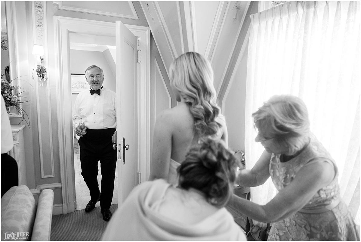 Cosmos Club DC Wedding bride with father.jpg