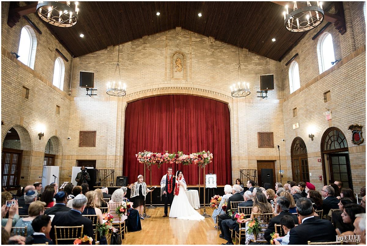 St Francis Hall Wedding indoor ceremony.jpg