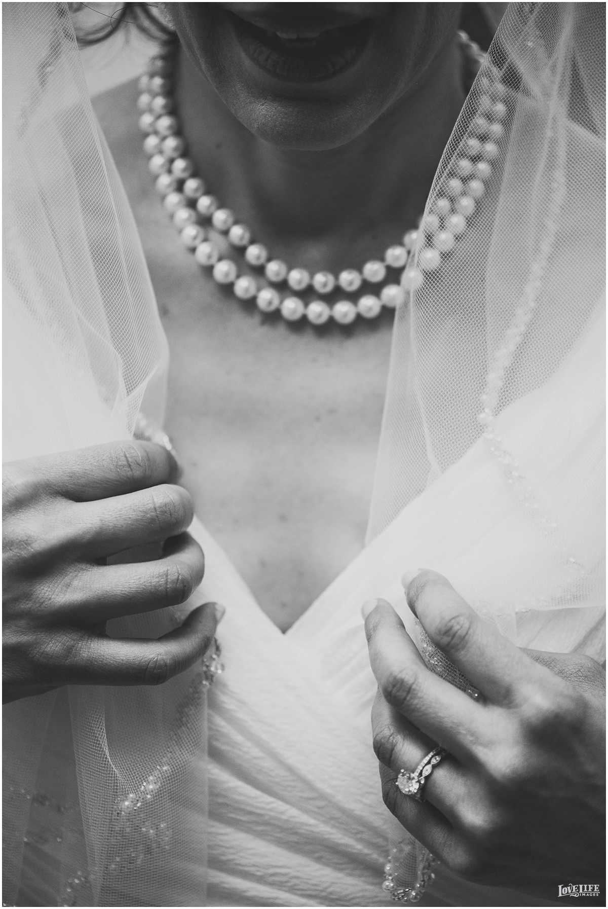 St Francis Hall Wedding bride with veil.jpg
