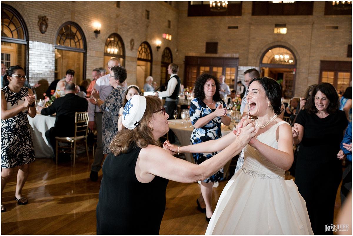 St Francis Hall Wedding reception dancing.jpg