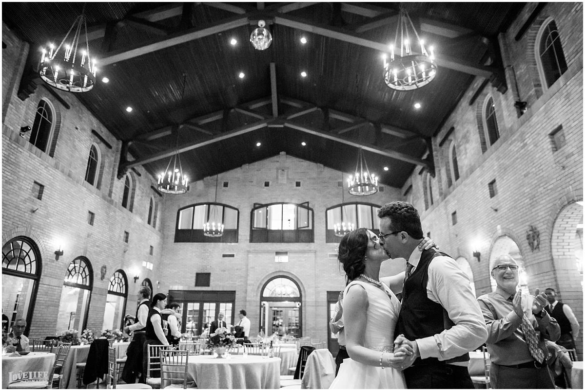 St Francis Hall Wedding dancing bride and groom.jpg
