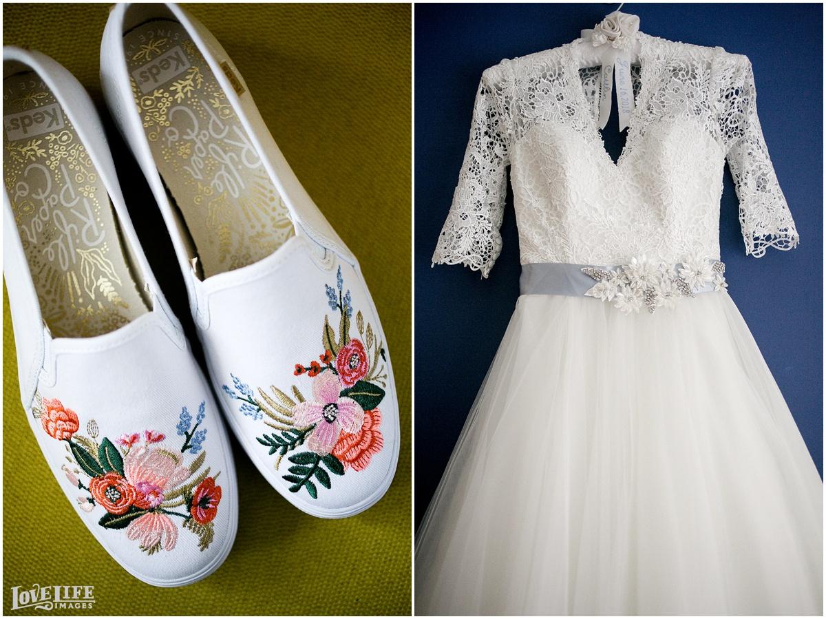 Dumbarton House DC Wedding dress and shoes.jpg