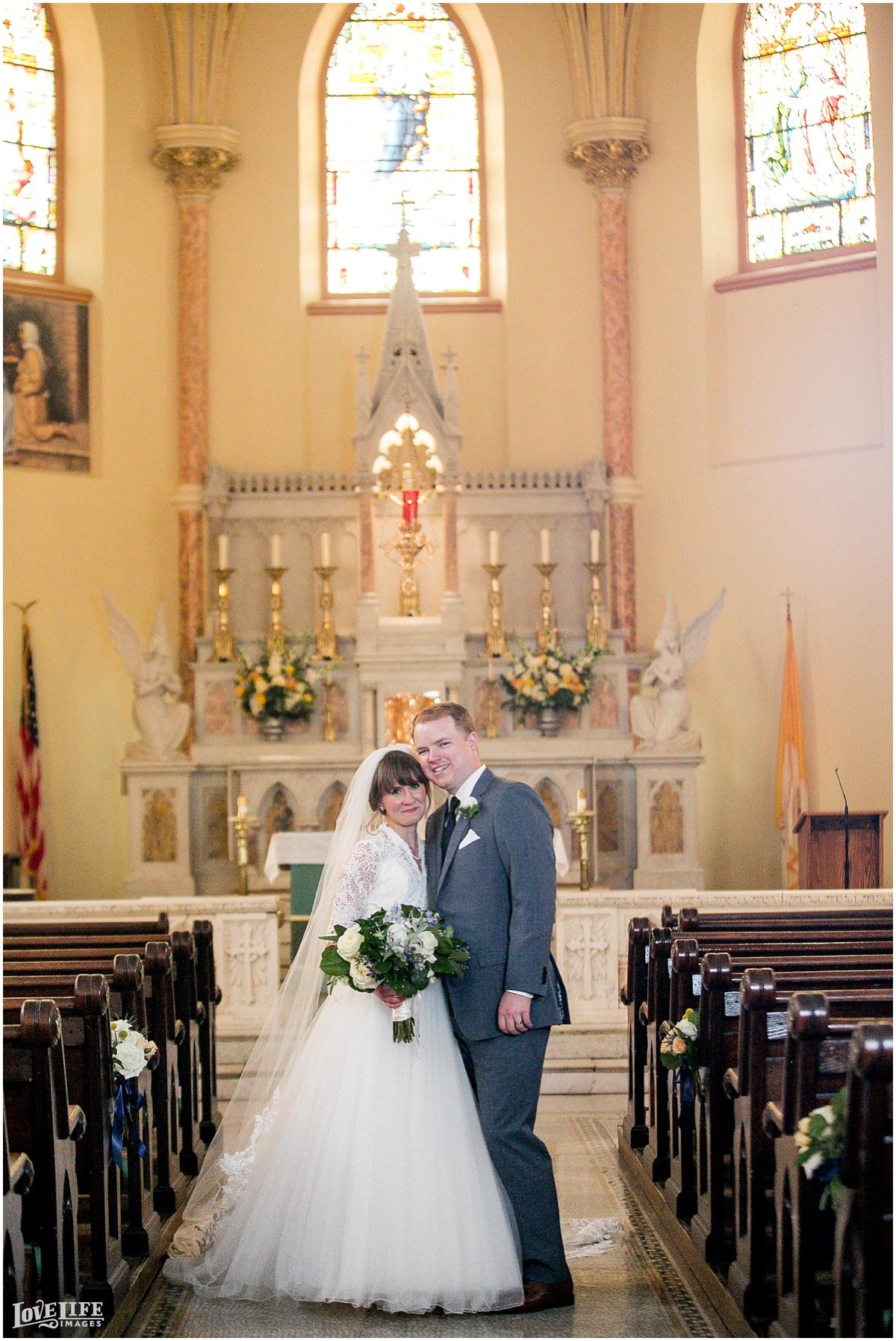 Dumbarton House DC Wedding bridal portrait in church.jpg