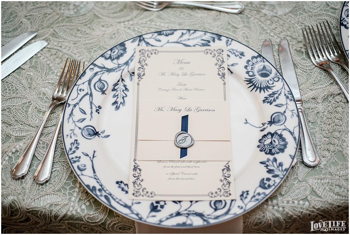 Dumbarton House DC Wedding vintage placesetting.jpg