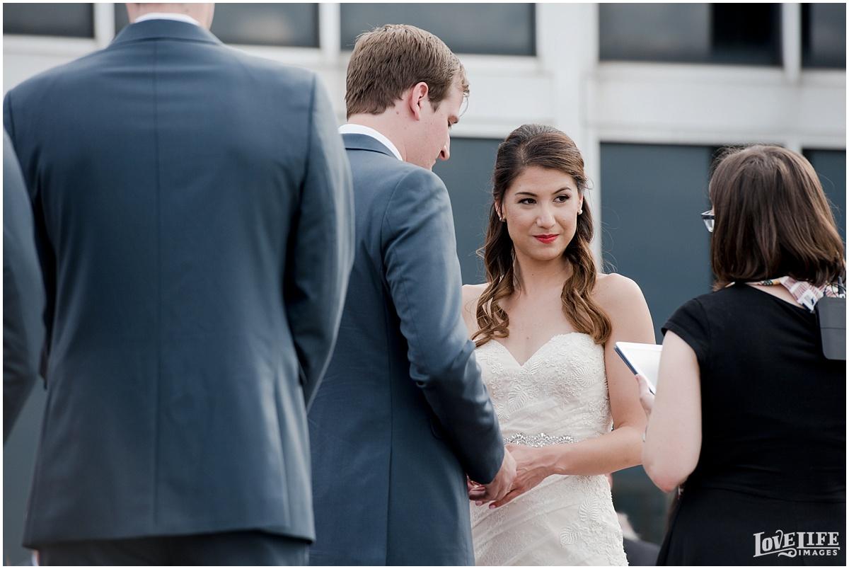Baltimore Museum of Industry Wedding ceremony ring exchange.jpg