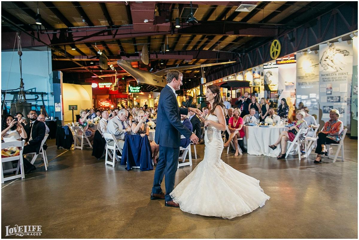 Baltimore Museum of Industry Wedding first dance.jpg