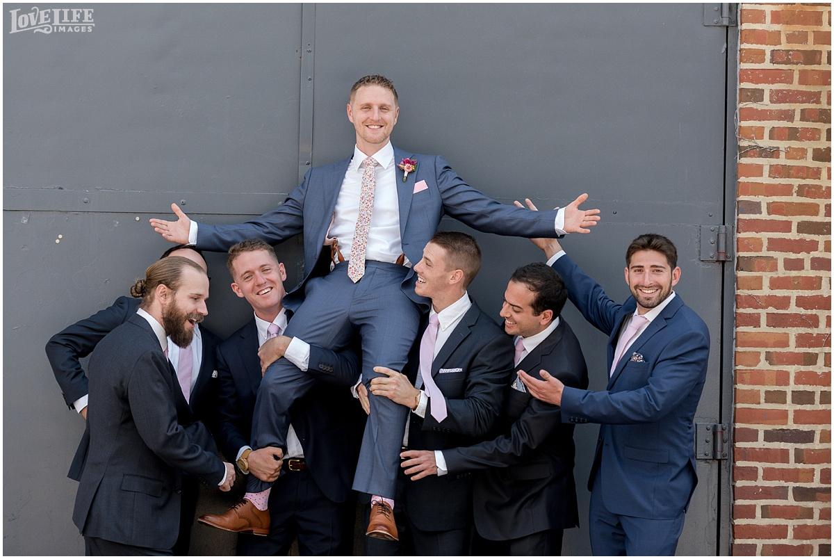 AVAM Baltimore Wedding groomsmen portrait.jpg