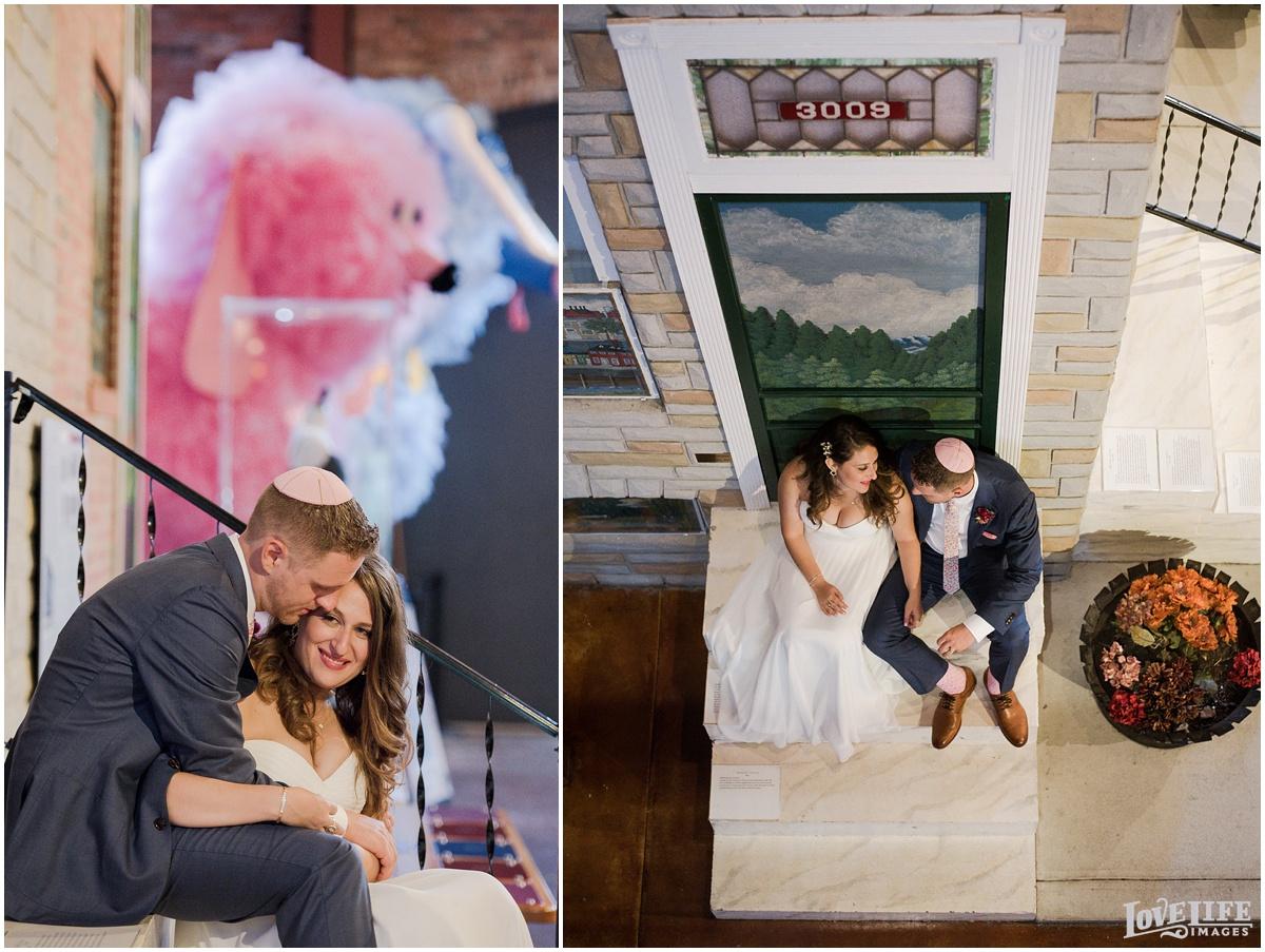 AVAM Baltimore Wedding portraits in museum.jpg