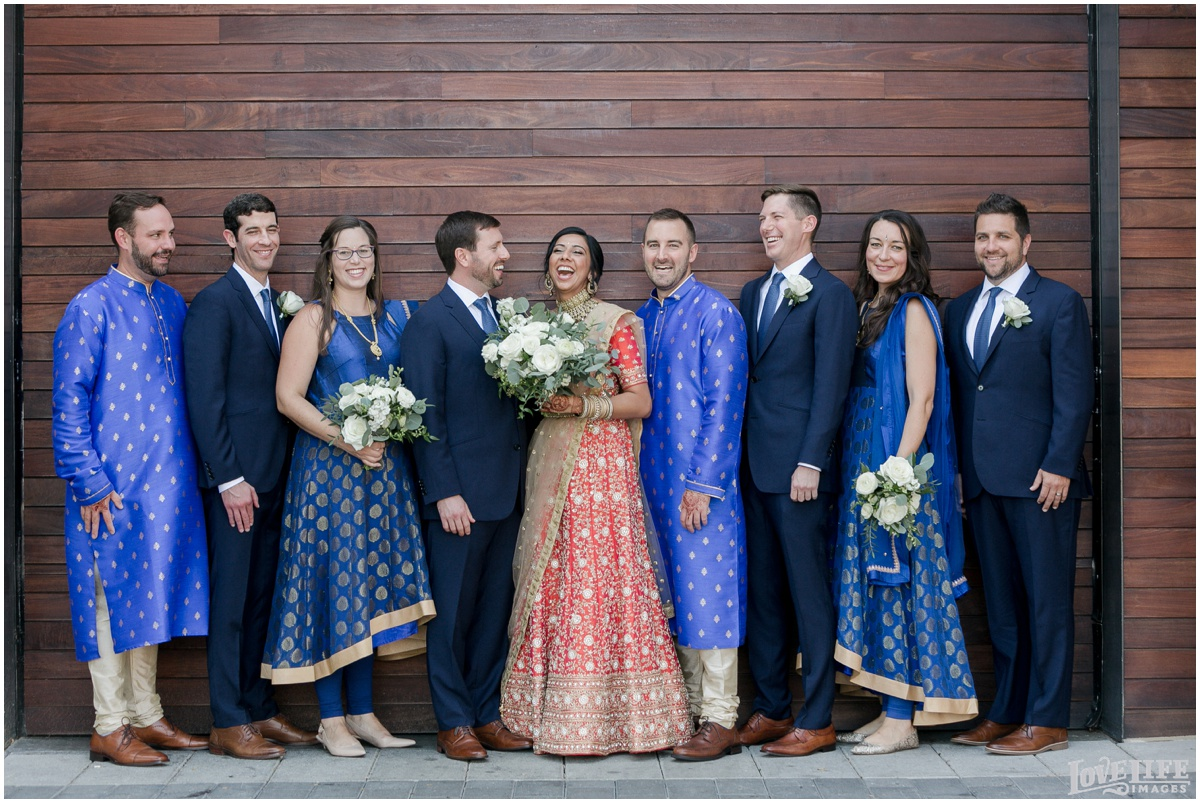 Multicultural District Winery DC Wedding party.jpg
