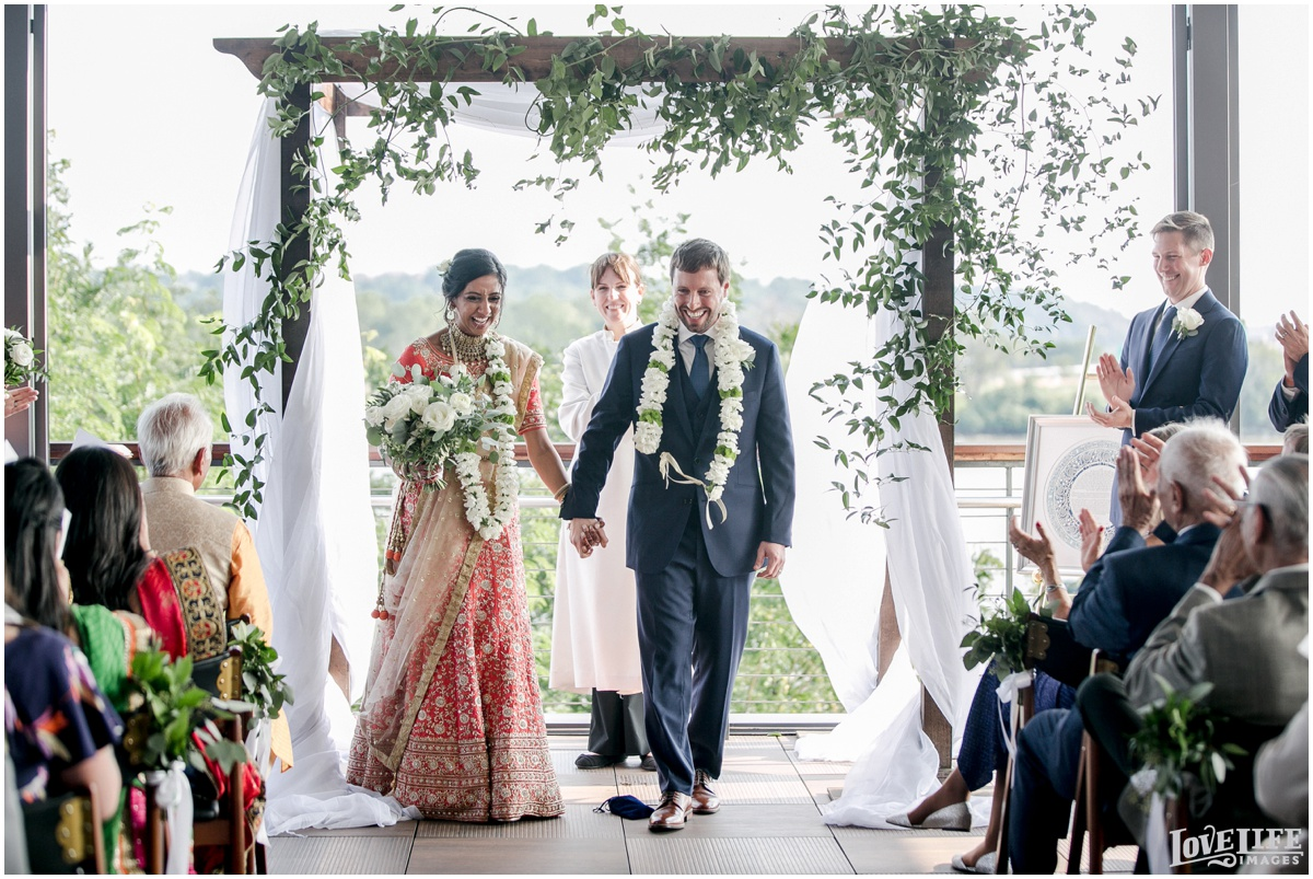 Multicultural District Winery DC Wedding ceremony recessional.jpg