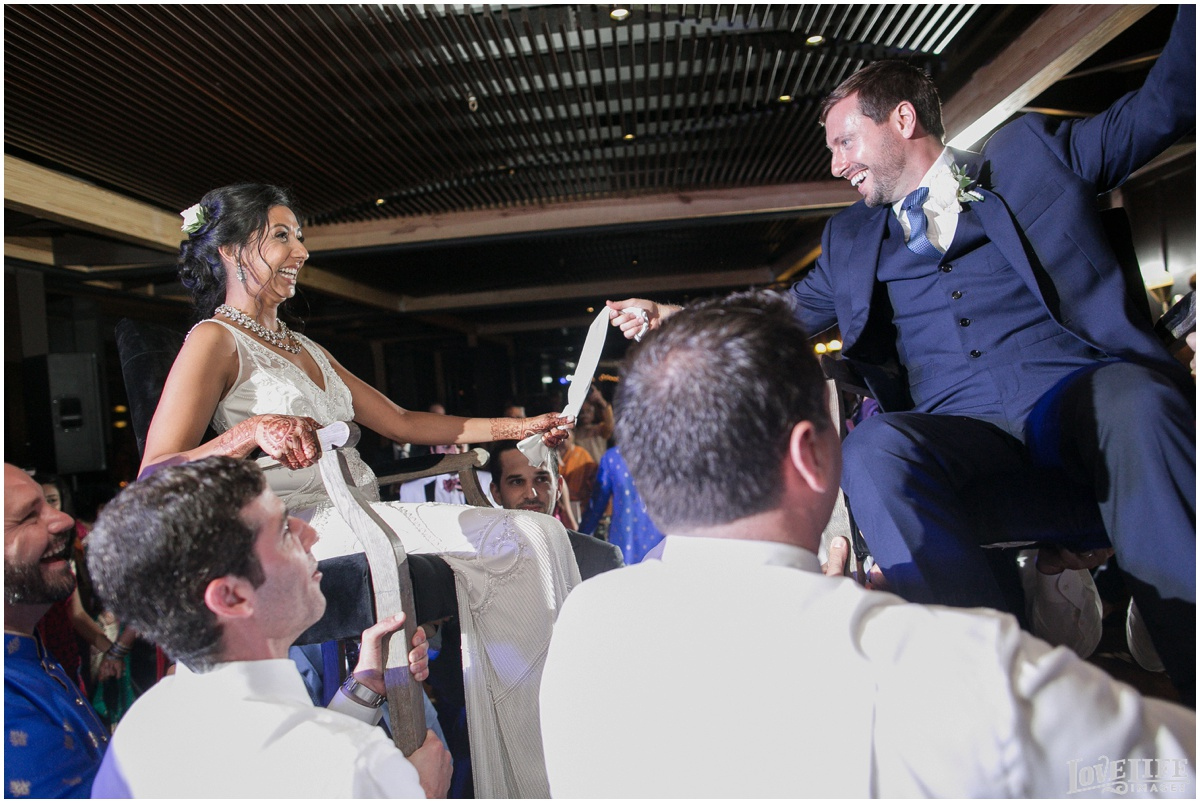 Multicultural District Winery DC Wedding bride and groom hora.jpg