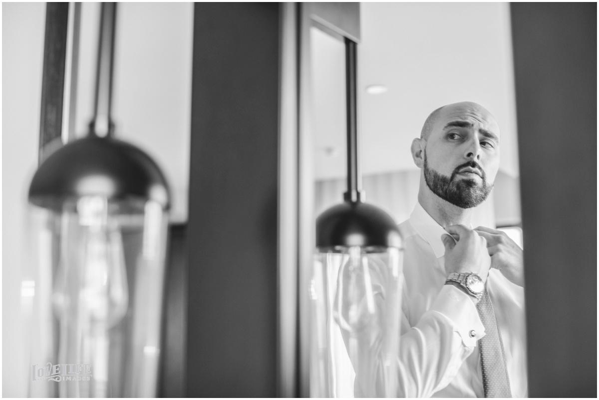 District Winery Fall DC wedding groom preparations.JPG
