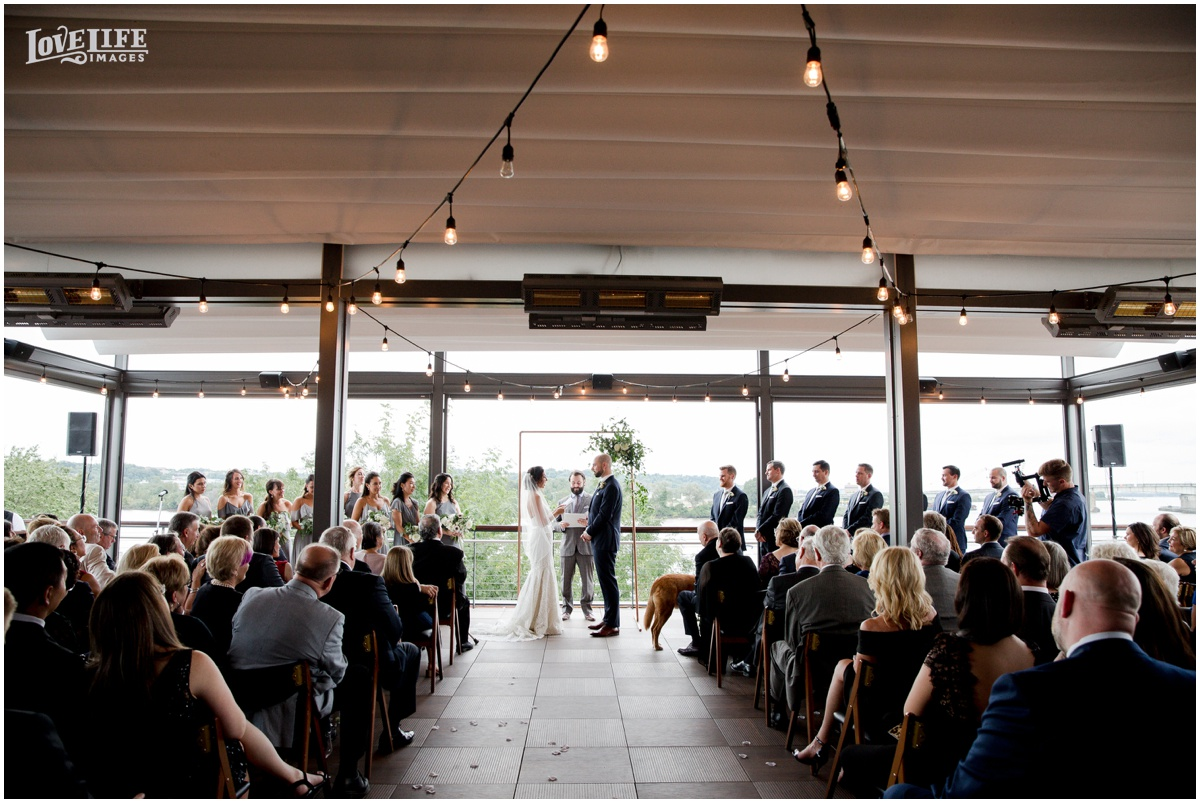 District Winery Fall DC wedding ceremony rooftop terrace.JPG